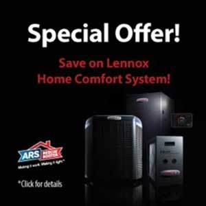 Special Offer - Save on Lennox Home Comfort System